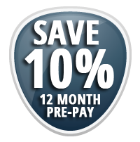 Pre-Pay & Save 10% On Your Order!
